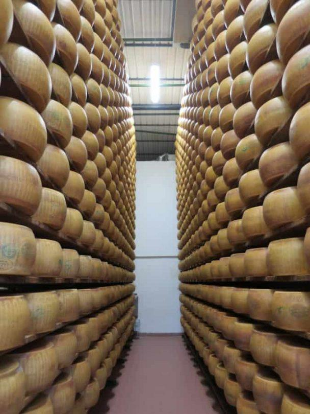 The cheese vault parmigiano reggiano food tour in parma italy