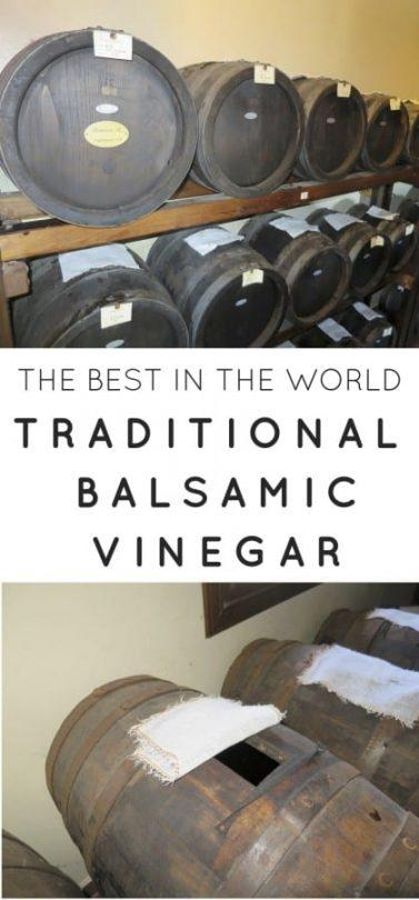 Why traditional Modena Balsamic Vinegar is the best in the world