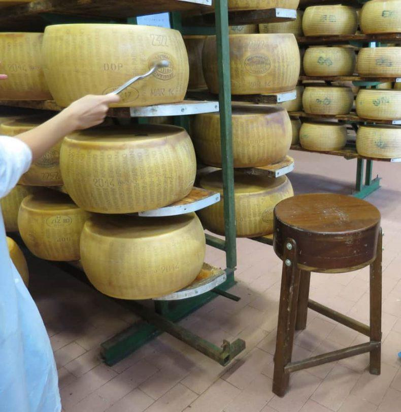 Parmigiano Reggiano food tour in Italy
