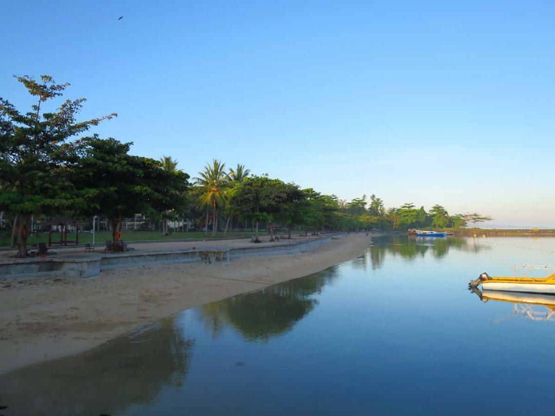 Private beach at Manado Mercure Tateli Beach Resort