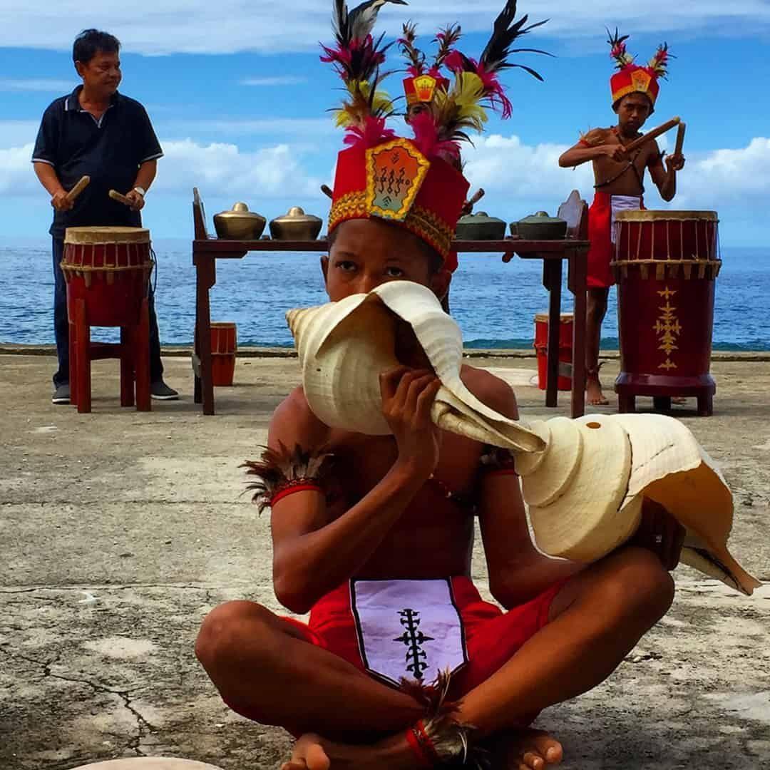 Sahureka-Reka dance Ambon Indonesia