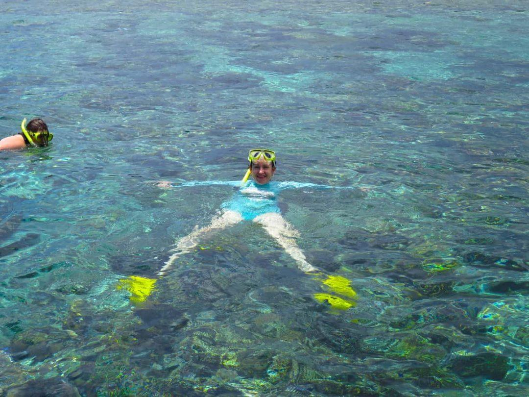 Snorkelling on Bunaken Island