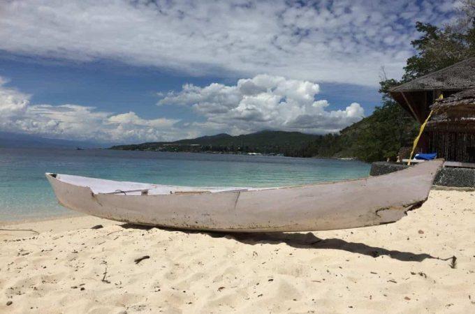 Tanjung Karang Beach Indonesian Islands