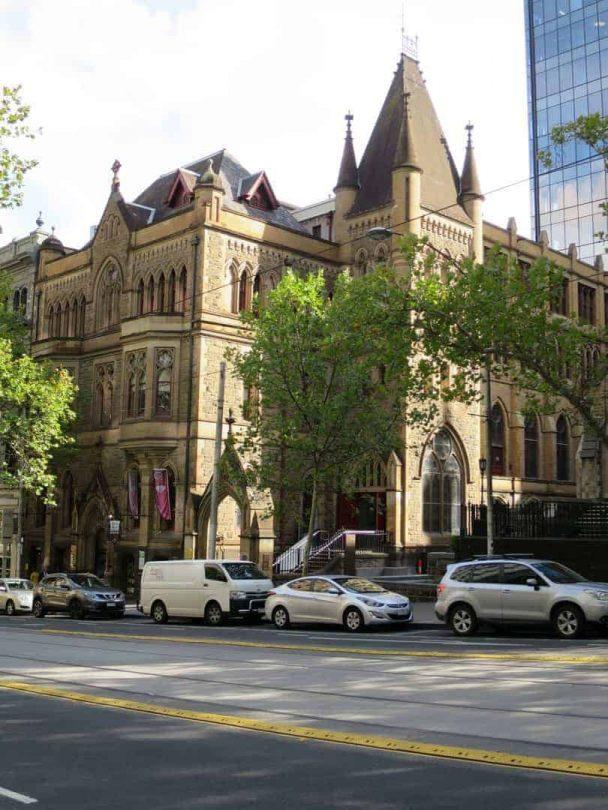 Beautiful buildings in Melbourne