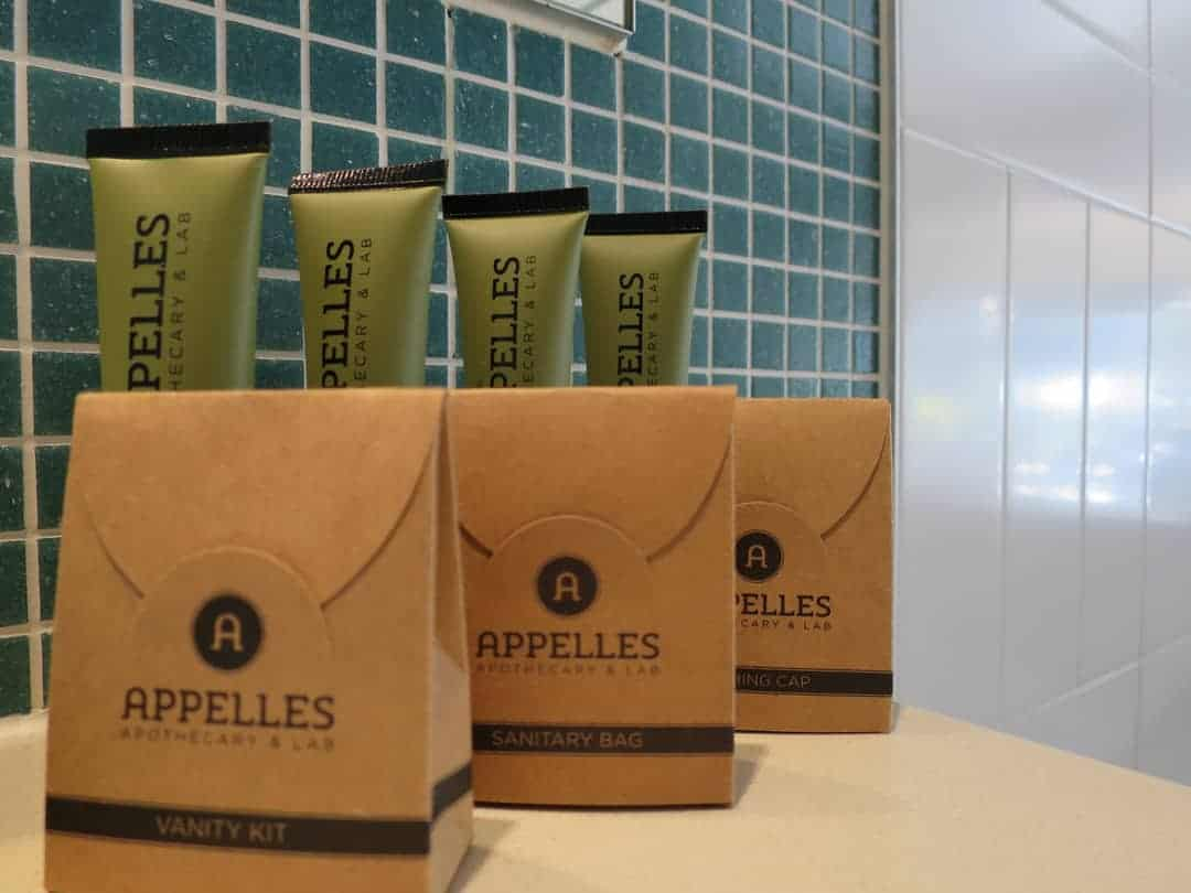 Toiletries at Pepper Salt Resoret Kingscliff Northern NSW