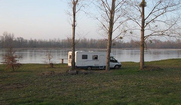 overnight camping in the loire valley