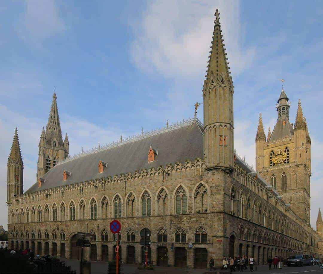 Ieper Cloth Hall - top 5 beautiful cities in Belgium