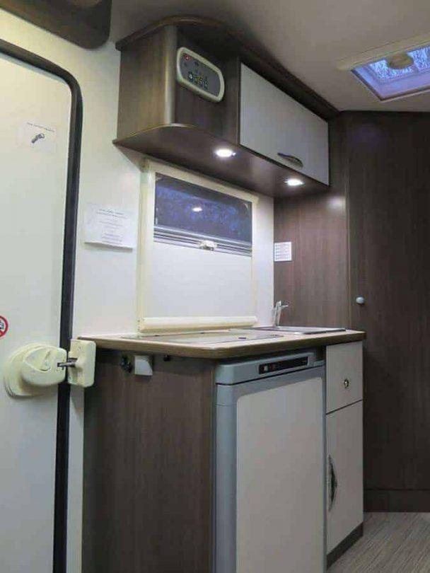Kitchen- what's inside a campervan