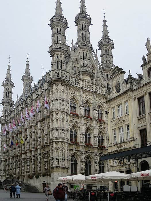 Leuven Town Hall - top 5 beautiful cities in Belgium