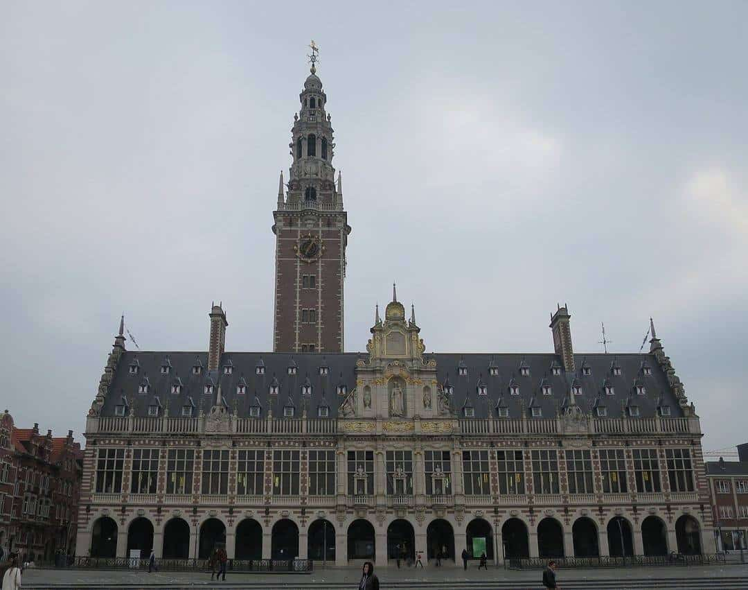 Leuven University Library - top 5 beautiful cities in Belgium