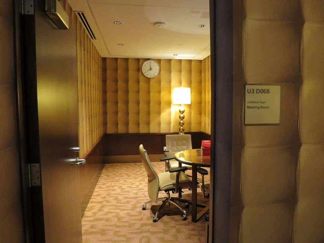 Business area - Emirates First Class Lounge Dubai