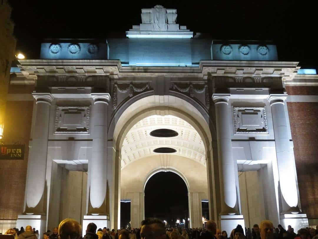 Menin Gate Ieper - top 5 beautiful citiies in Belgium