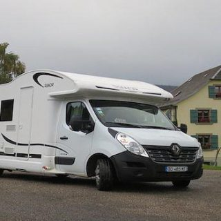 Travelling in a motorhome