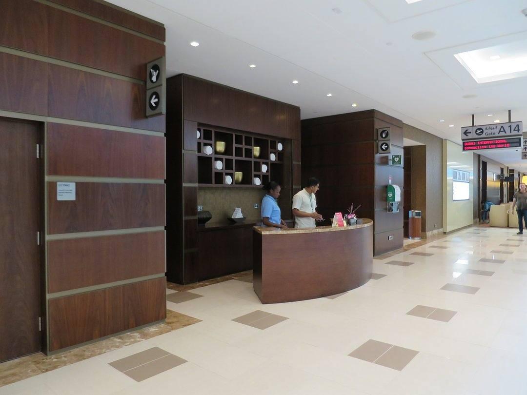 Bathrooms - Emirates First Class Lounge Dubai