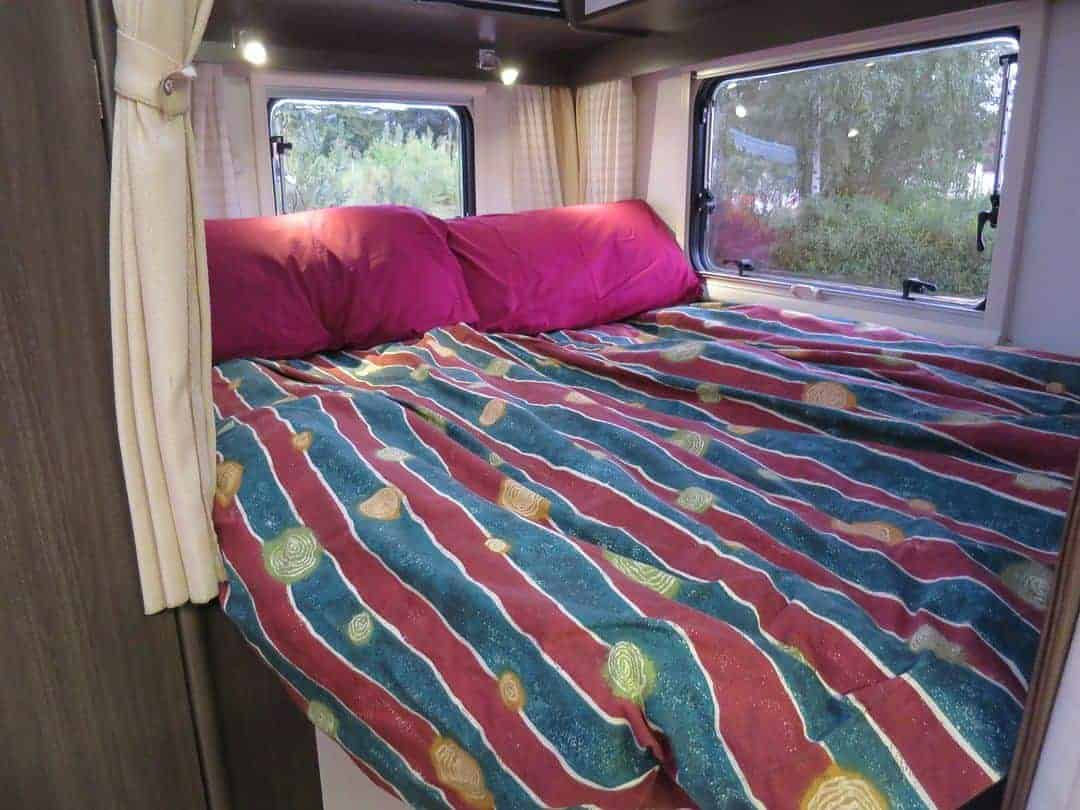 Bedroom what's inside a campervan
