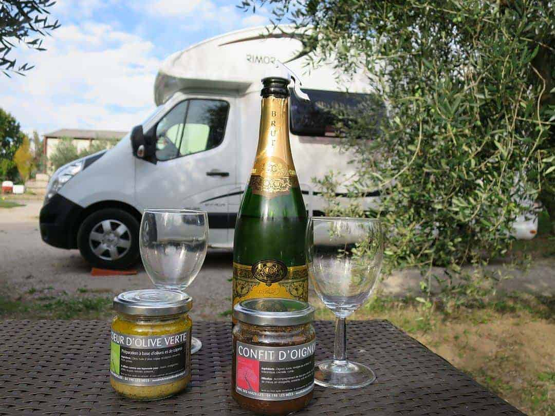 free campsites in France for campervans