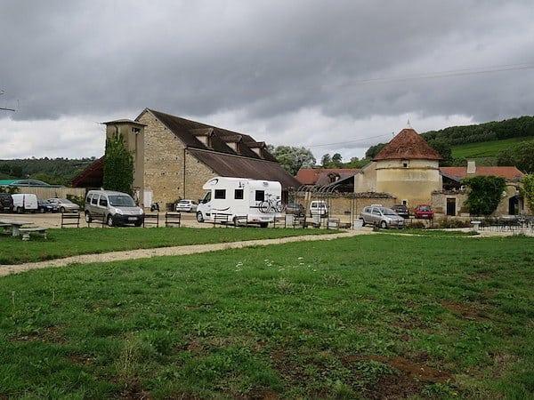 free campsites in france for campervans