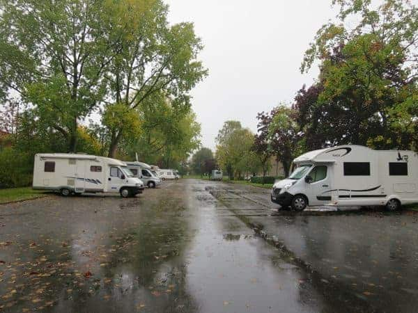 free campervan stops in France