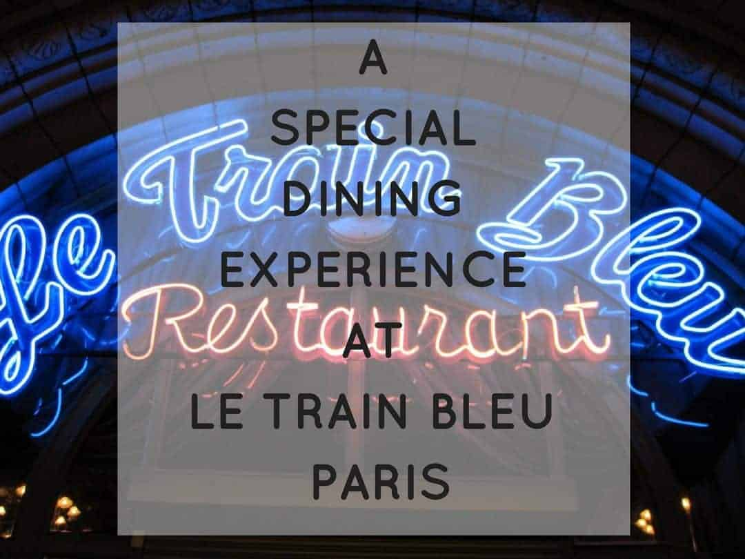 Le Train Bleu one of the best restaurants in Paris