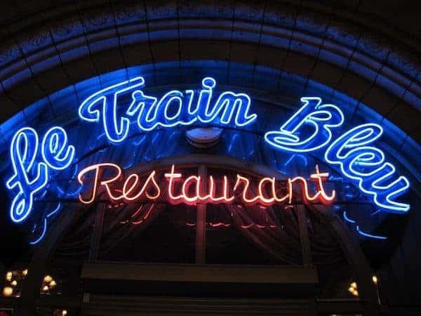 Le Train Bleu one of the best restaurants in Paris