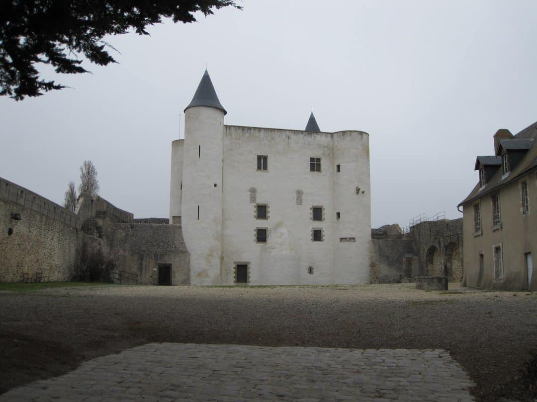 The Chateau Noirmoutier - visiting Ile de Noirmoutier