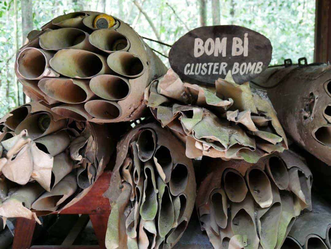 American cluster bombs