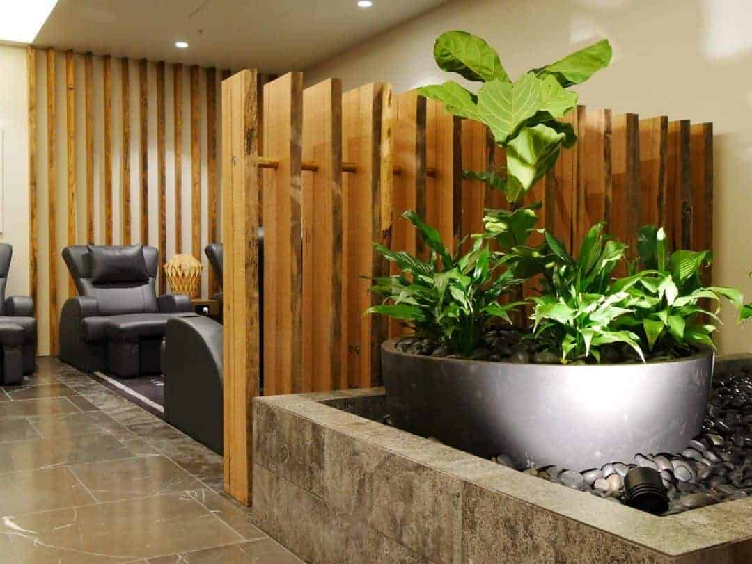 Spa area Brisbane Plaza Premium Lounge