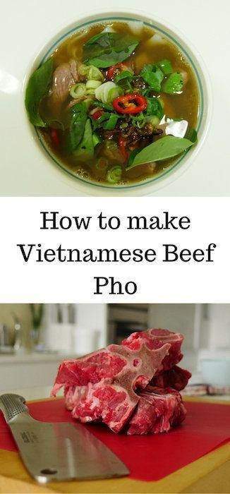 This is the easiest recipe for Vietnamese beef pho. I missed it after returning from Vietnam so just had to make it myself. Now you can too.