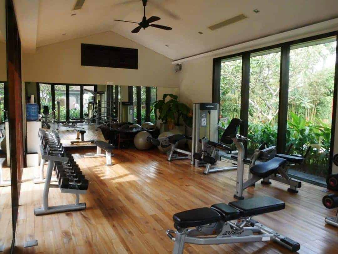 Fitness centre at Fusion Maia Danang