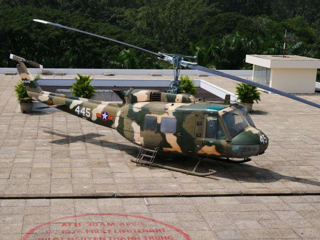 "UF-1 Iroquois nicknamed ""Huey"""
