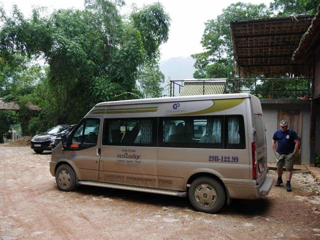 Shuttle bus Mai Chau from Hanoi