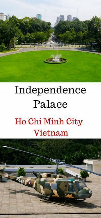 The Independence Palace is one of the museums in Ho Chi Minh City. It's a great way to soak up the modern history of a city entrenched in the Vietnam War