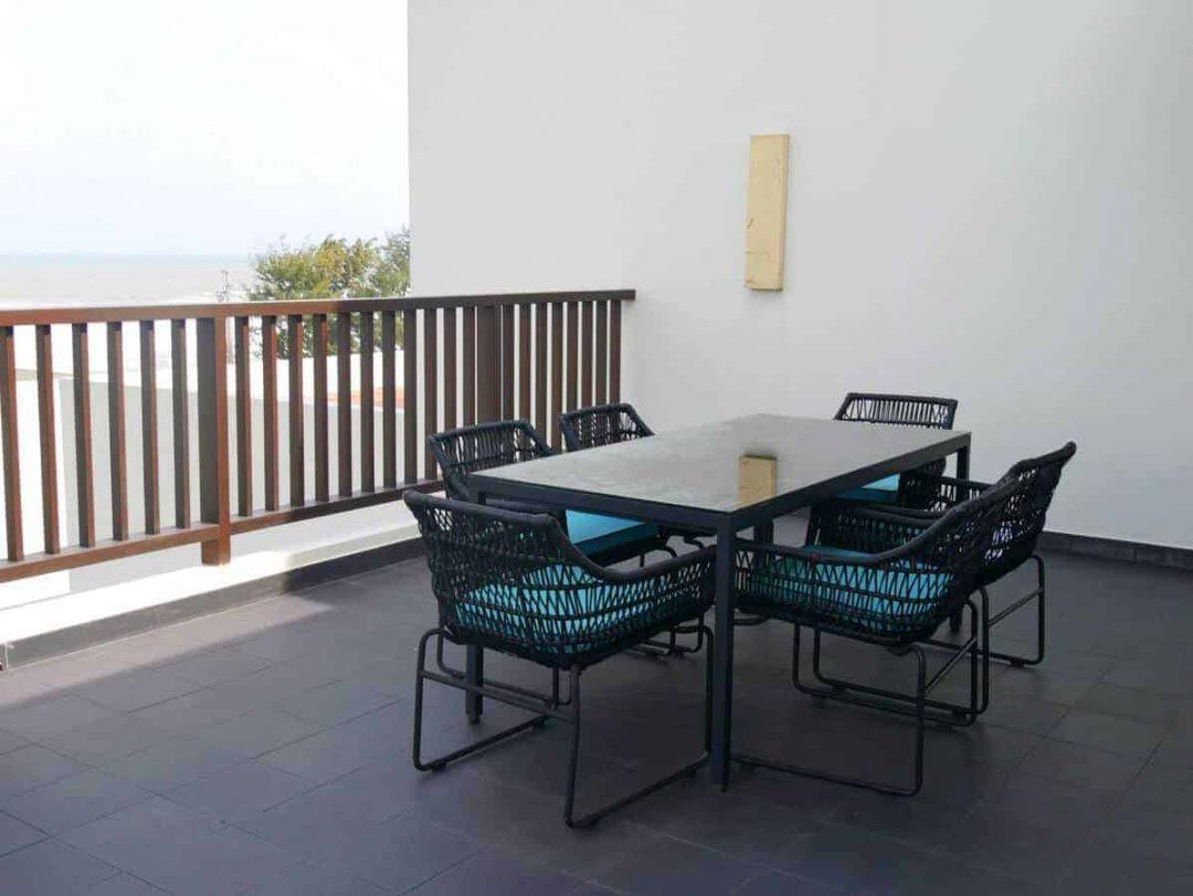 Balcony Pullman Danang Beach Resort a great value beach resort in danang
