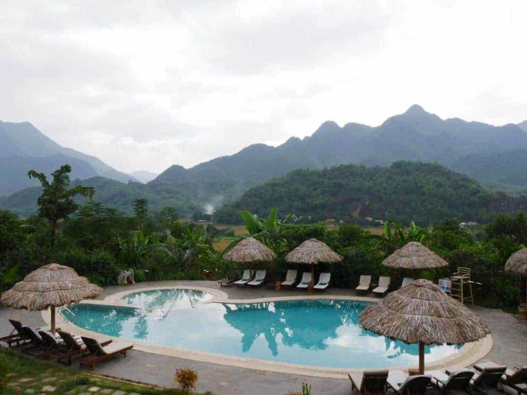 Pool at Mai Chau