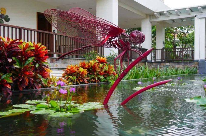 The beautiful Pullman Danang Beach Resort