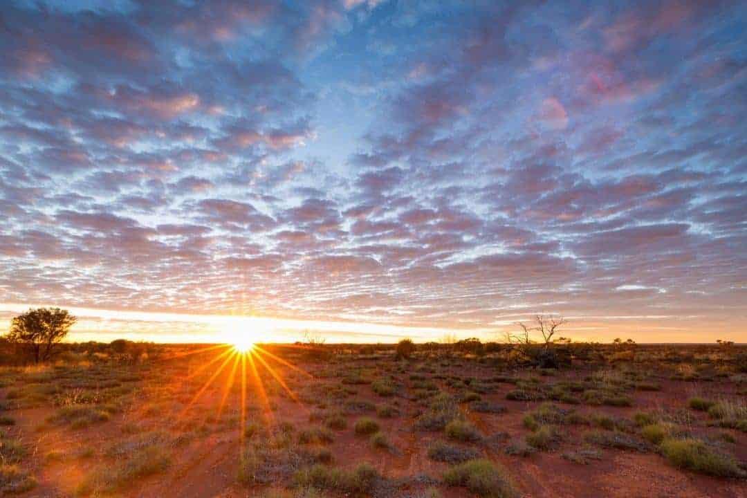 Sunrise on the Connie Sue