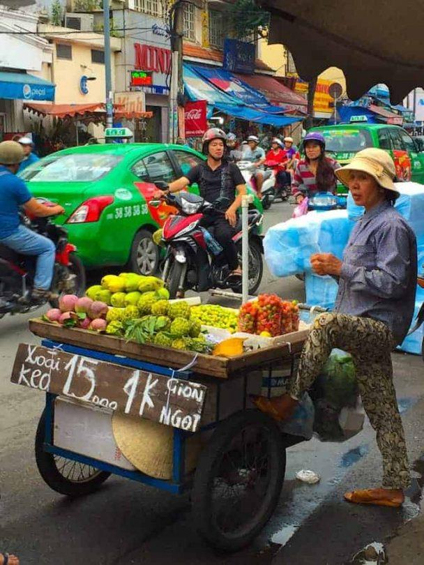 Street markets in the form of mobile vendors