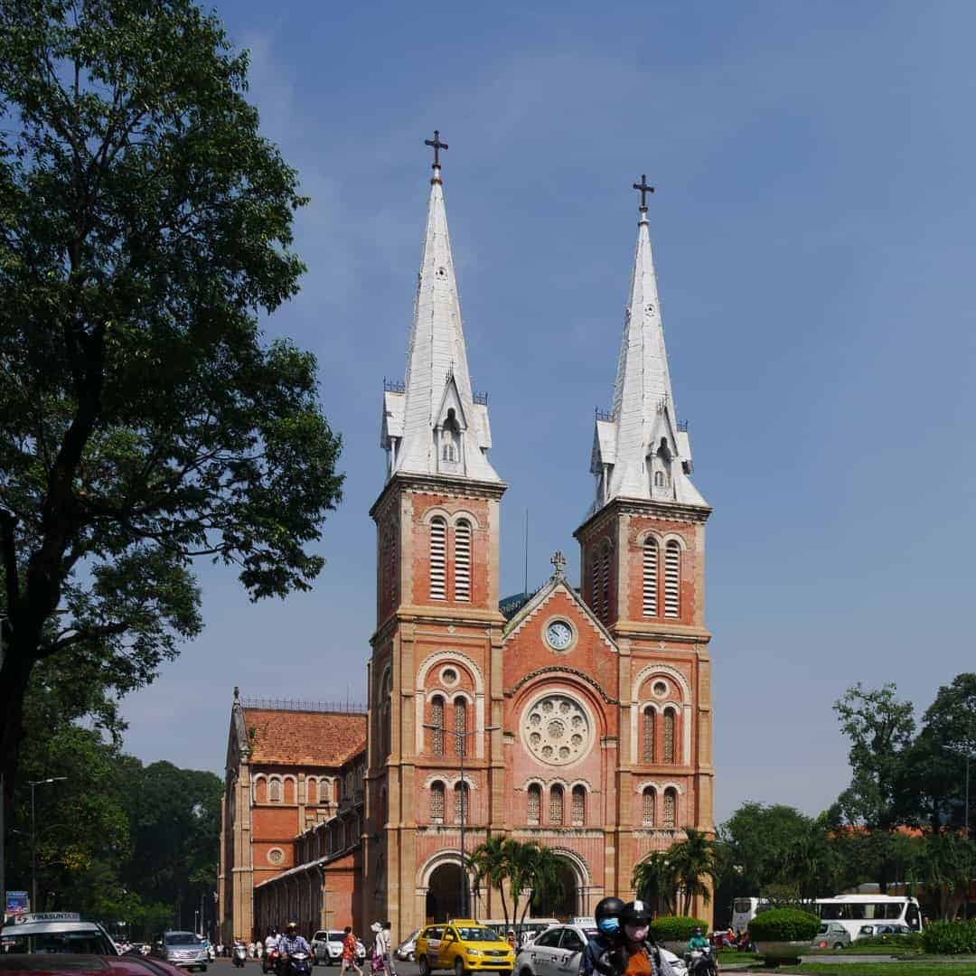 Notre-Dame-Cathedral-Ho Chi Minh City
