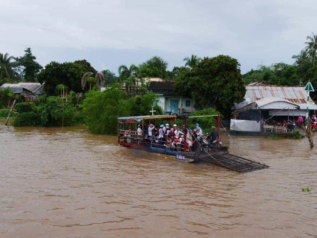 The motorbike ferry