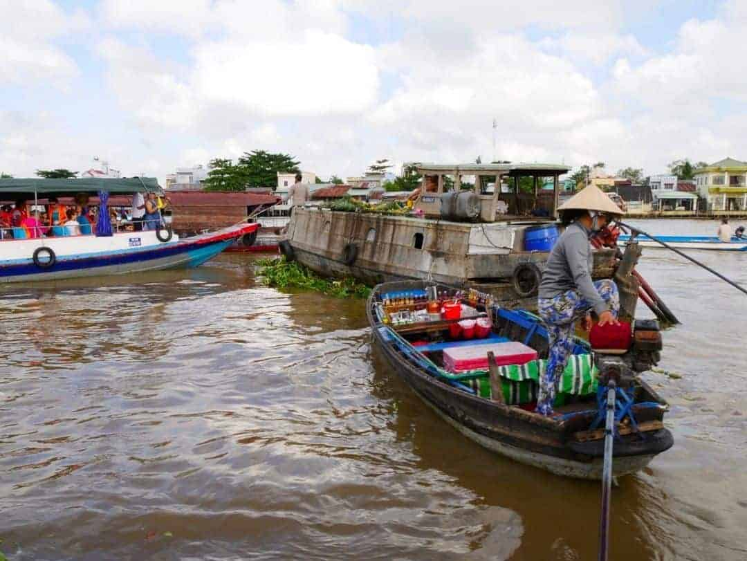 The floating markets of Cai Rang