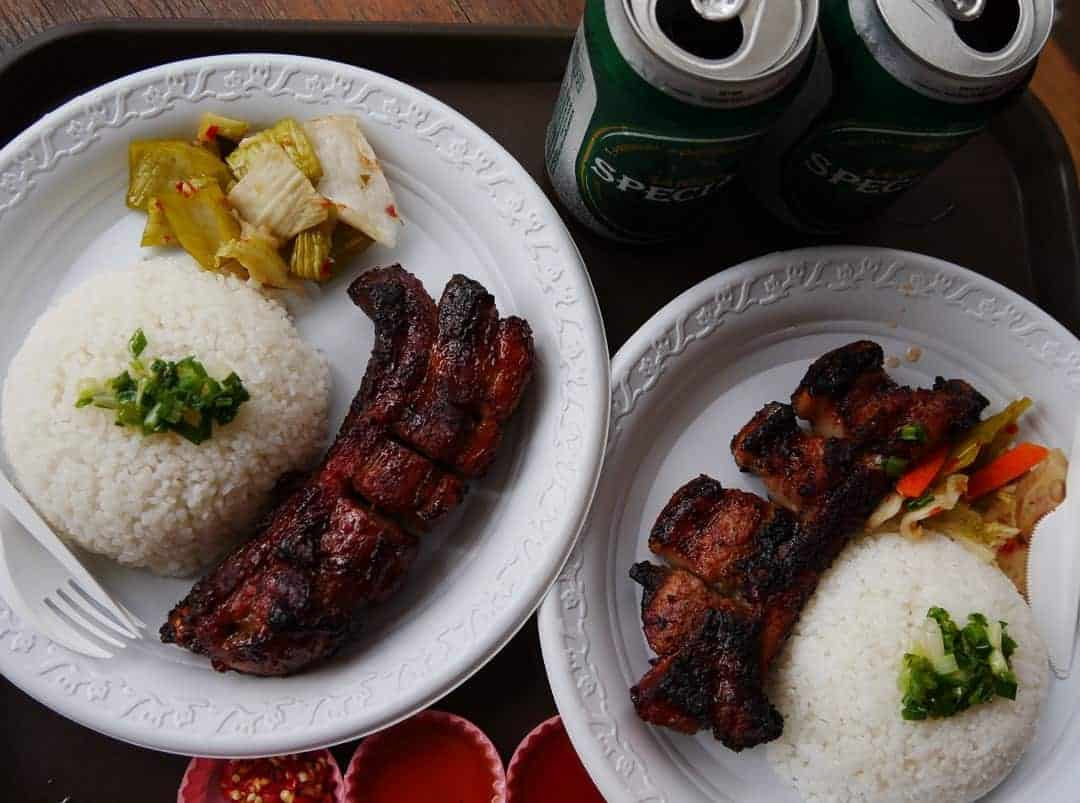 Pork spare ribs from the Ben Thanh street market
