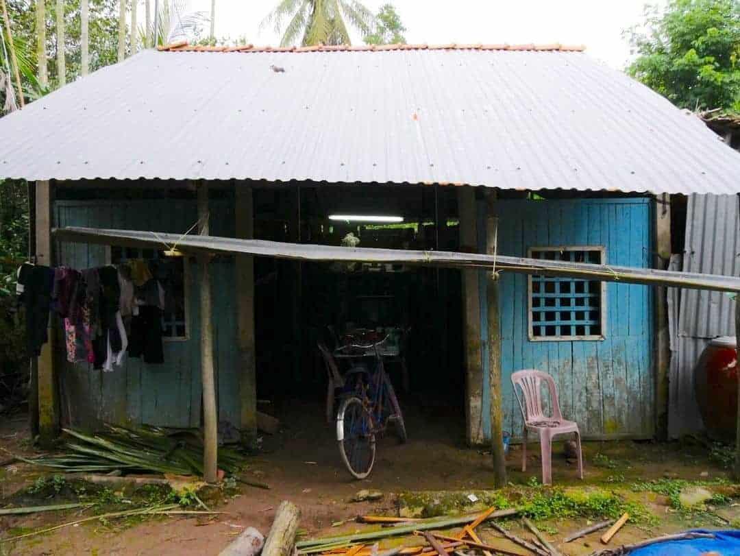 Mekong Delta village house
