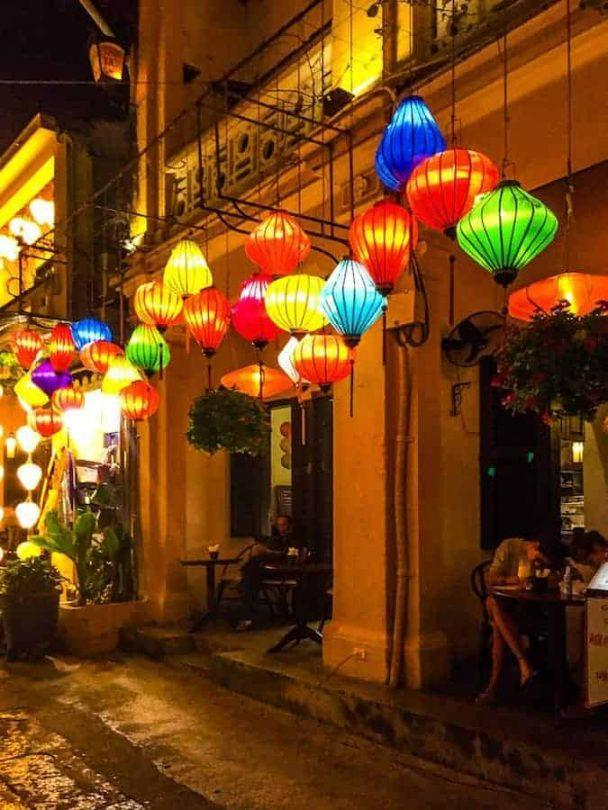 The lanterns at night - best reasons to visit Hoi An