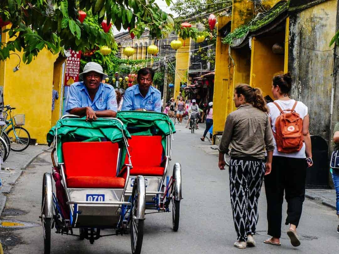 Bikes for hire in the Old Town - best reasons to visit Hoi An
