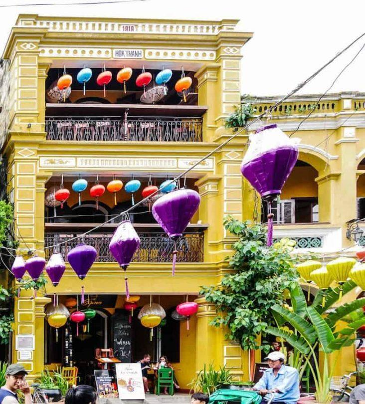 beautiful building in Hoi An