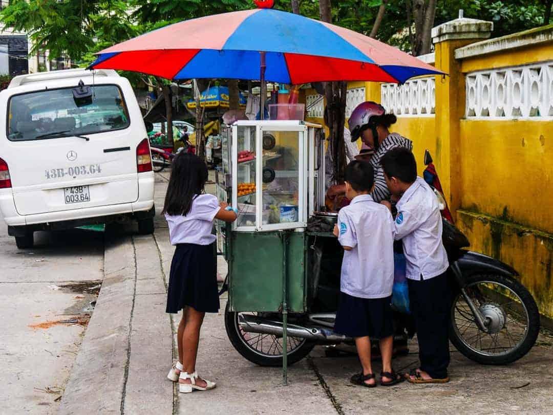 Kids in Hoi An