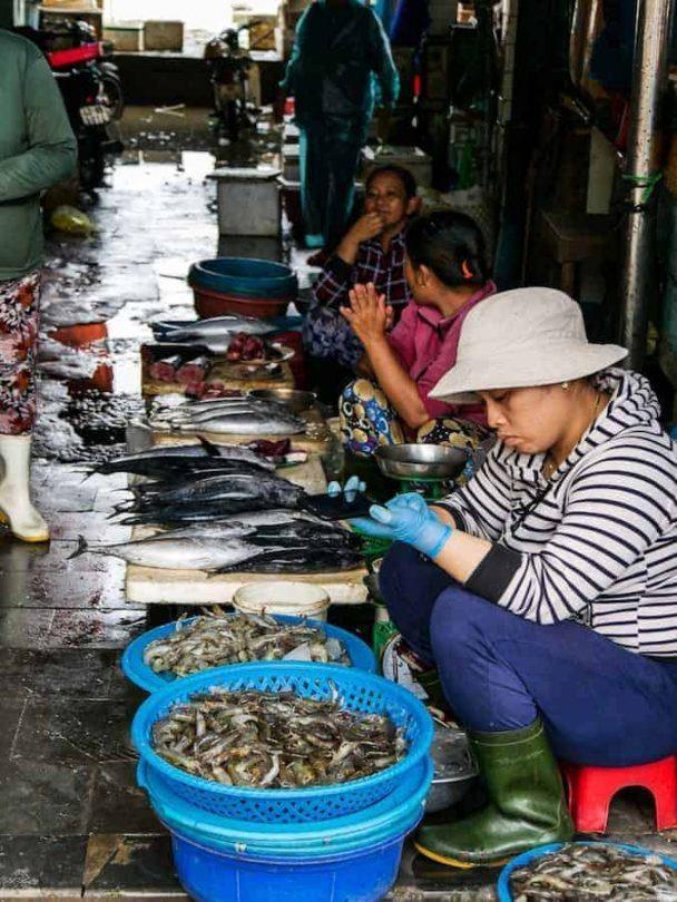 Fish market Hoi An