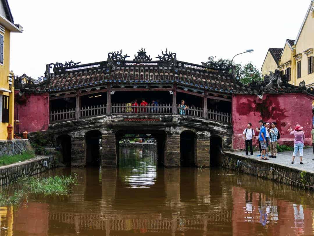 The Japanese Bridge Hoi an