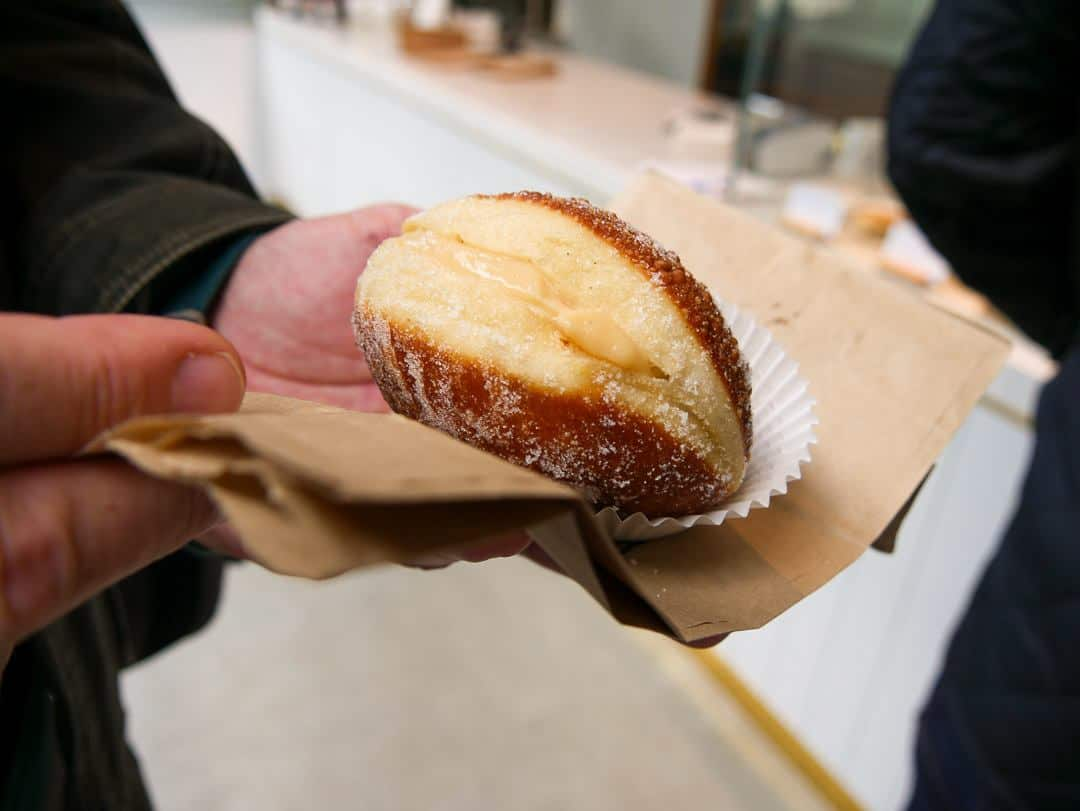 The famous Tasmanian sourdough doughnut