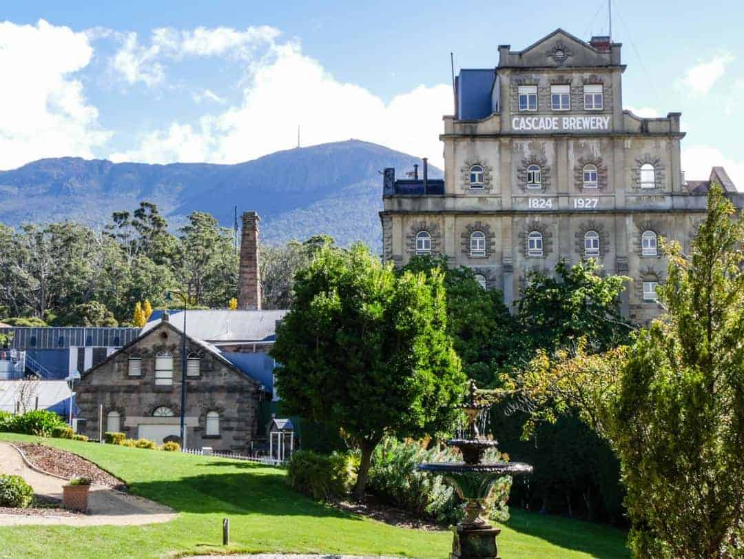 Cascade Brewery - best brewery tour in Hobart